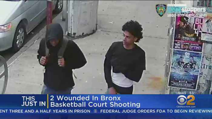Basketball Court Shooting Caught On Camera