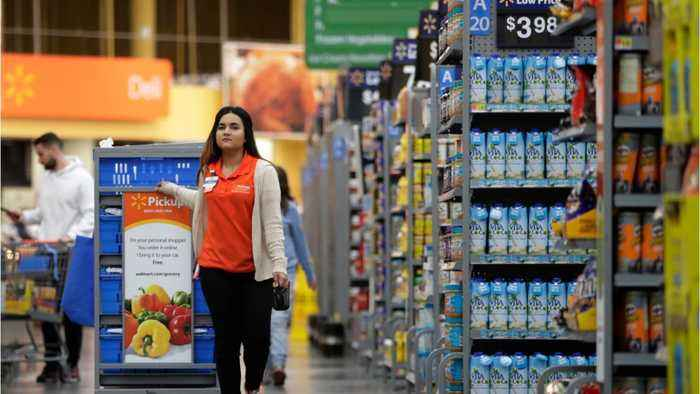 Walmart Says It's Monitoring The Tariff Discussions; Posts Mixed Results