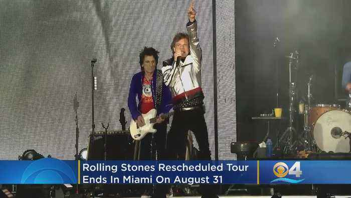 Rolling Stones Rescheduled Tour Ends In Miami On August 21