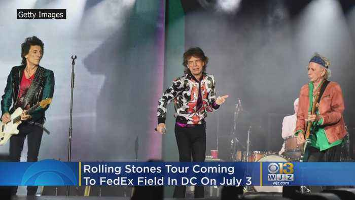 Rolling Stones Tour U.S. This Summer, Band Comes To DC July 3