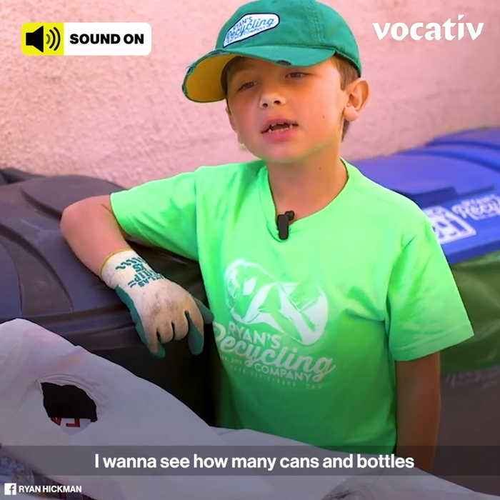 9-Year-Old Eco-Hero Makes Money While Saving the Planet