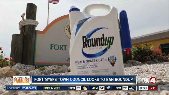 Fort Myers Beach Town Council looks to ban Roundup