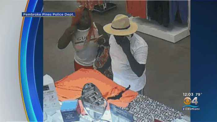 Police Searching For Sears Jewelry Thieves