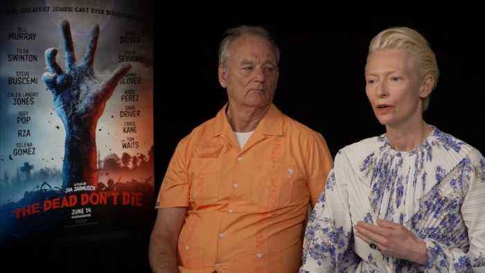 Bill Murray, Tilda Swinton On 'The Dead Don't Die'