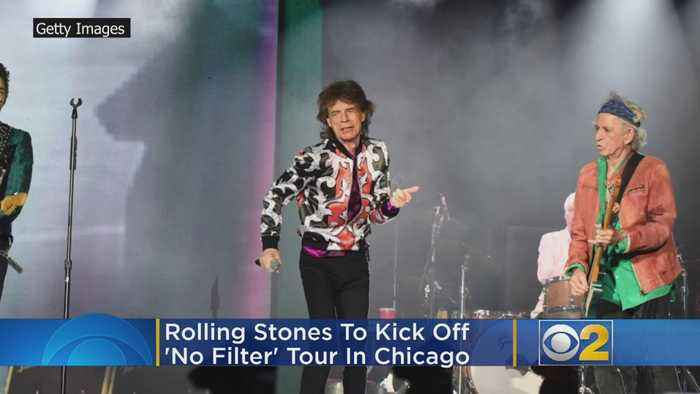 Rolling Stones To Kick Off 'No Filter' Tour In Chicago In June