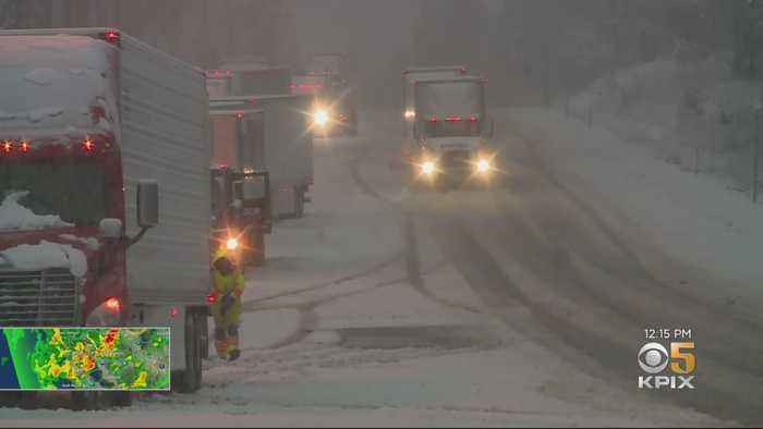 Storm Brings Uncommon May Snow To Sierra
