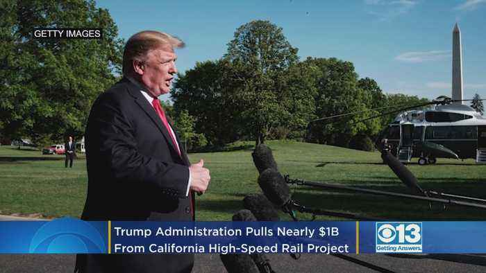 Trump Administration Pulls Nearly $1B From California High-Speed Rail Project