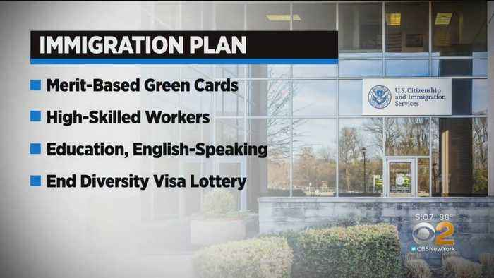 President Trump Unveils New Immigration Plan
