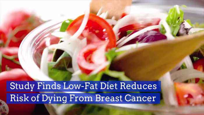 A New Study Reveals Side Effects Of Low-Fat Diet