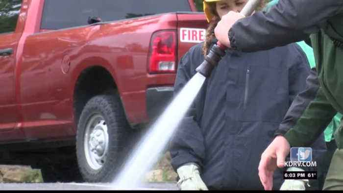 Firefighters across the world are learning about prescribed burning in Ashland
