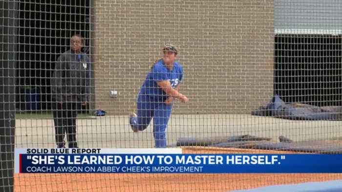 'She's learned how to master herself.'