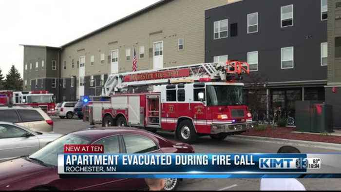 Fire at Rochester apartment complex