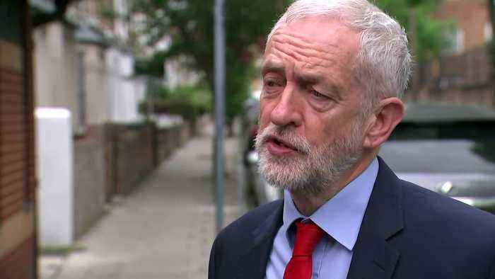 Corbyn: Brexit talks have reached a natural conclusion