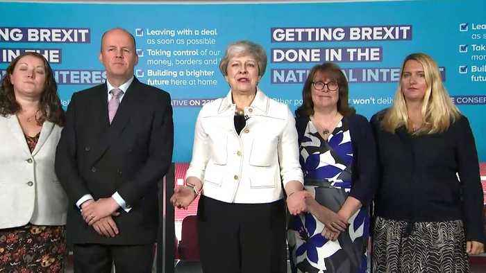 May:' Only Conservatives can deliver Brexit'