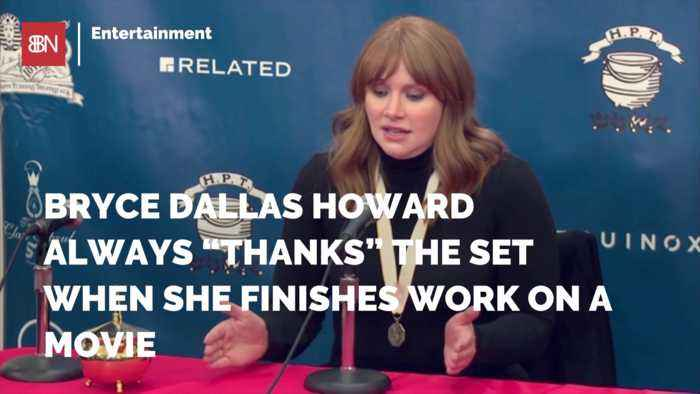 Bryce Dallas Howard Shows Gratitude To Film Crews