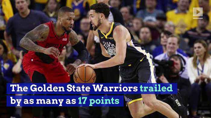 Warriors Rally to Take 2-0 Series Lead Over Blazers