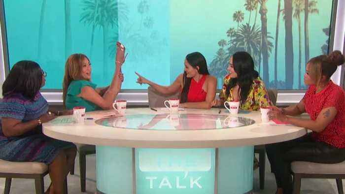 The Talk - Carrie Ann Inaba Spills on 'rough sex' Tattoo Mishap