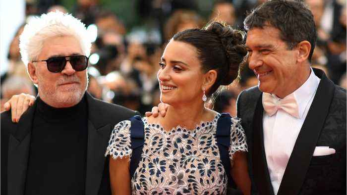 Penelope Cruz, Antonio Banderas Reunite On Cannes Red Carpet