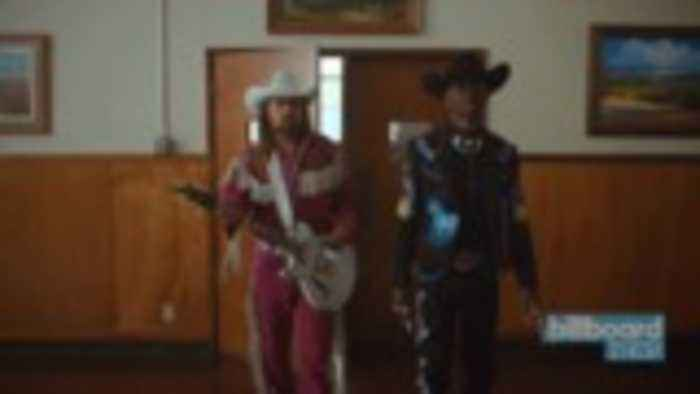 Lil Nas X Delivers Highly Anticipated 'Old Town Road' Music Video With Billy Ray Cyrus   Billboard News