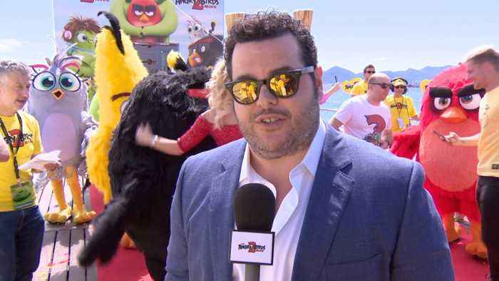 Josh Gad Is At Cannes 2019 With His 'Angry Birds 2' Friends