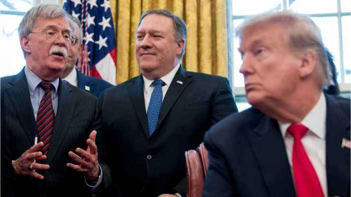 President Trump Denies Conflict With Advisors Over Iran Policy