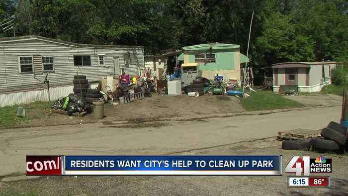 Stonecroft mobile home park in deplorable conditions
