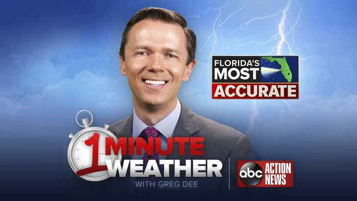 Florida's Most Accurate Forecast with Greg Dee on Friday, May 17, 2019
