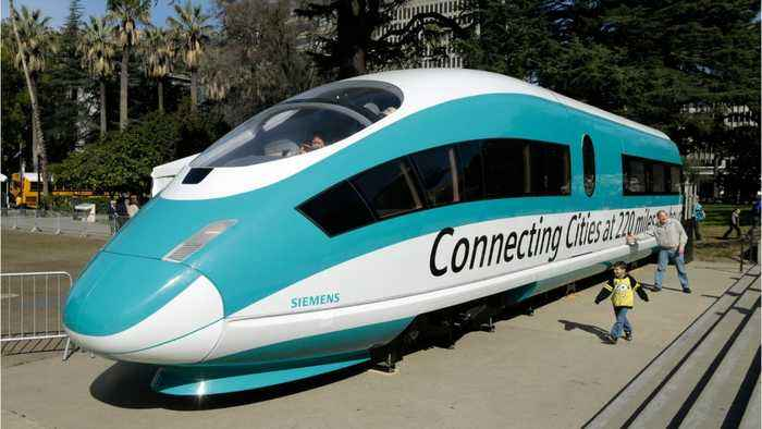 U.S. cancels funds for California high speed rail