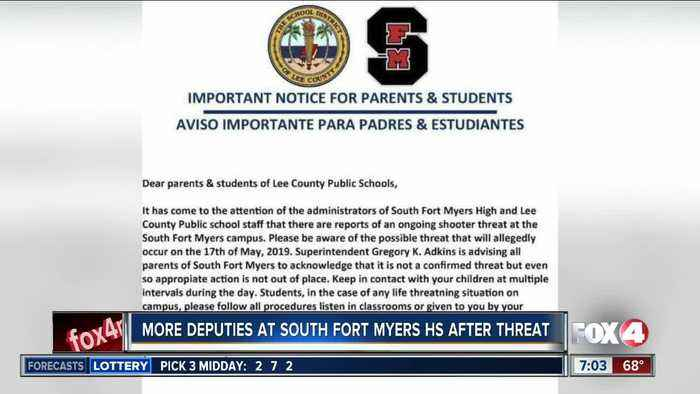 Students heading back to school after threat of shooting at South Fort Myers High