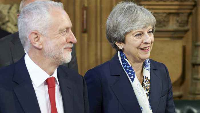 Brexit Talks Between May And Corbyn Collapse