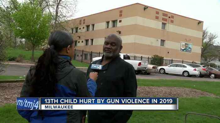 13th child hurt by gun violence in 2019