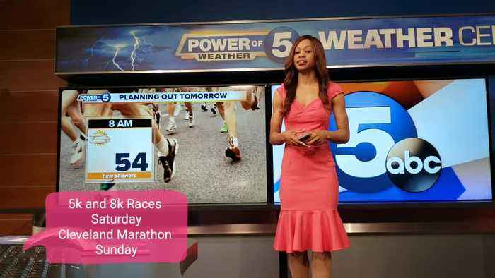 What weather runners can expect in Cleveland this weekend