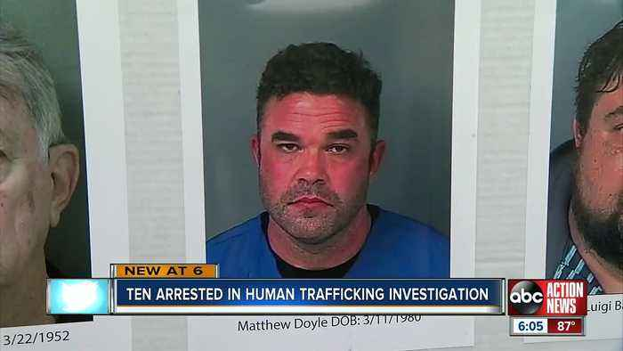 Firefighter, restaurant owner and several others charged with human trafficking