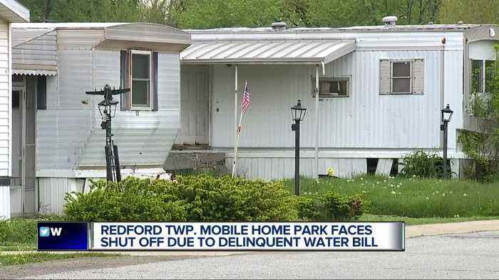 'They don't say anything to you!' Mobile home park residents frustrated over months late water payment