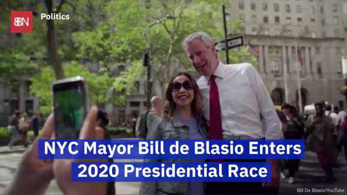 NYC Mayor Bill de Blasio Has Entered The 2020 Presidential Election