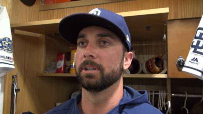 Garcia, Kinsler and Green on facing Pirates and state of season for Padres