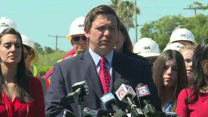 WEB EXTRA: Gov. Ron DeSantis On Influx Of Migrants Coming To South Florida