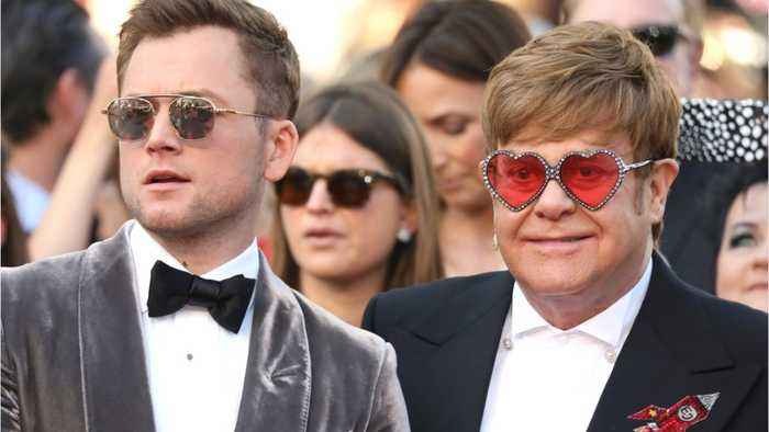 Taron Egerton Formed Close Bond With Elton John During 'Rocketman'