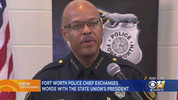 Actions Of FWPD Chief During Fallen Officer Memorial Questioned