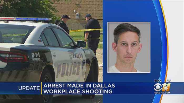 Dallas Police Arrest Man Accused Of Shooting 2 At A Business