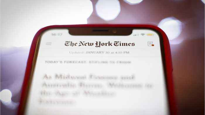 The New York Times To Launch First TV News Show On Hulu And FX
