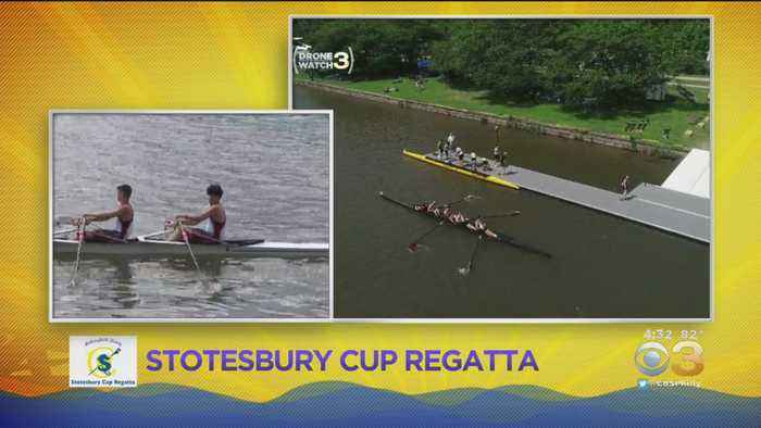 CBS3 Mobile Weather Watcher: Stotesbury Cup Regatta