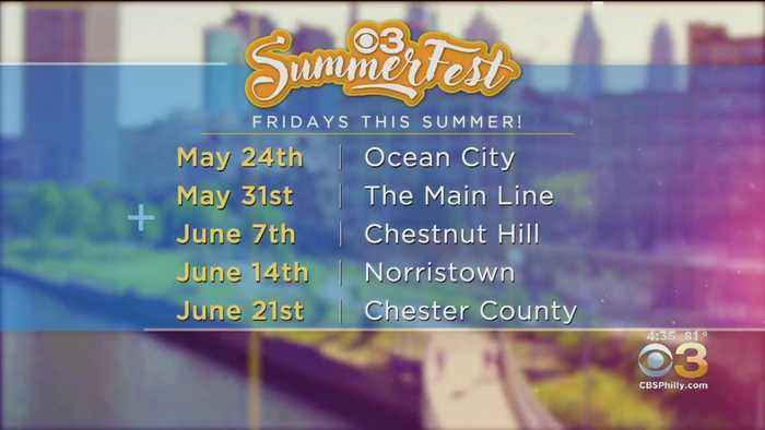 CBS3 SummerFest: The First Five Locations Revealed