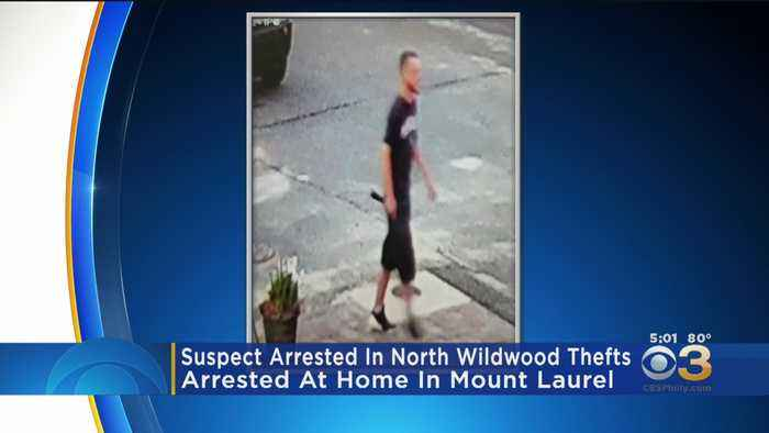 Suspect Arrested In North Wildwood Thefts