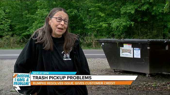 Houston, I Have A Problem: Trash pickup problems