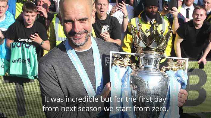 Guardiola: Man City stars will have to prove themselves again next season