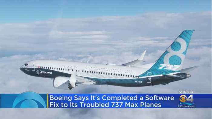 Boeing Completes Software Fix On 737 Planes