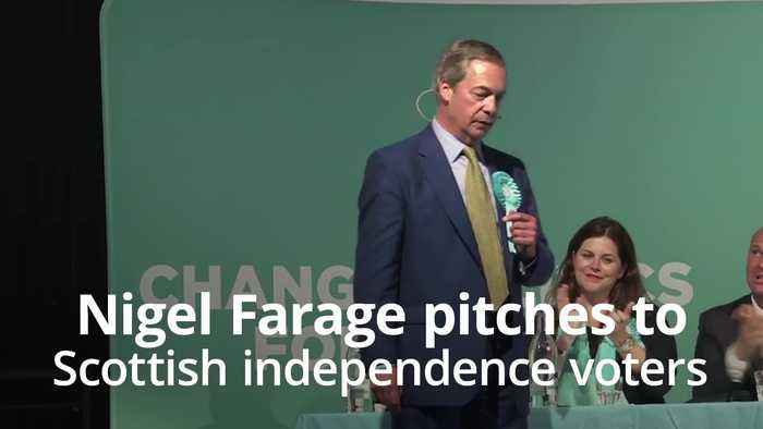 Farage tells SNP supporters: Lend me your votes for the European Elections