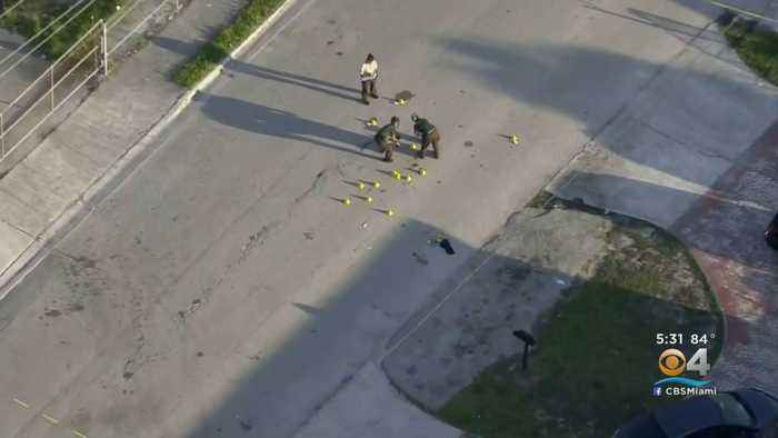 Off-Duty Miami Police Officer Shoots & Injures Man