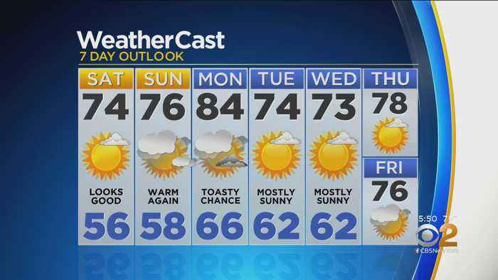 New York Weather: CBS2 5/17 Evening Forecast at 5PM